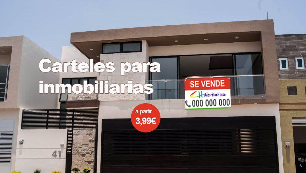 carteles inmobiliarias