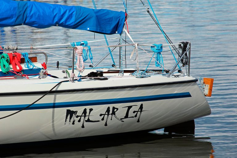 Rotulación de Barcos